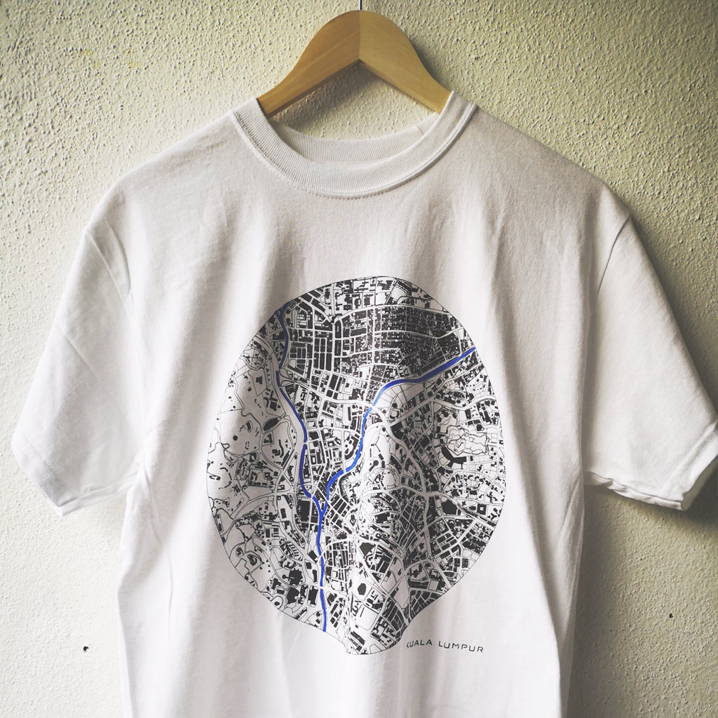 T- Shirt KL Map