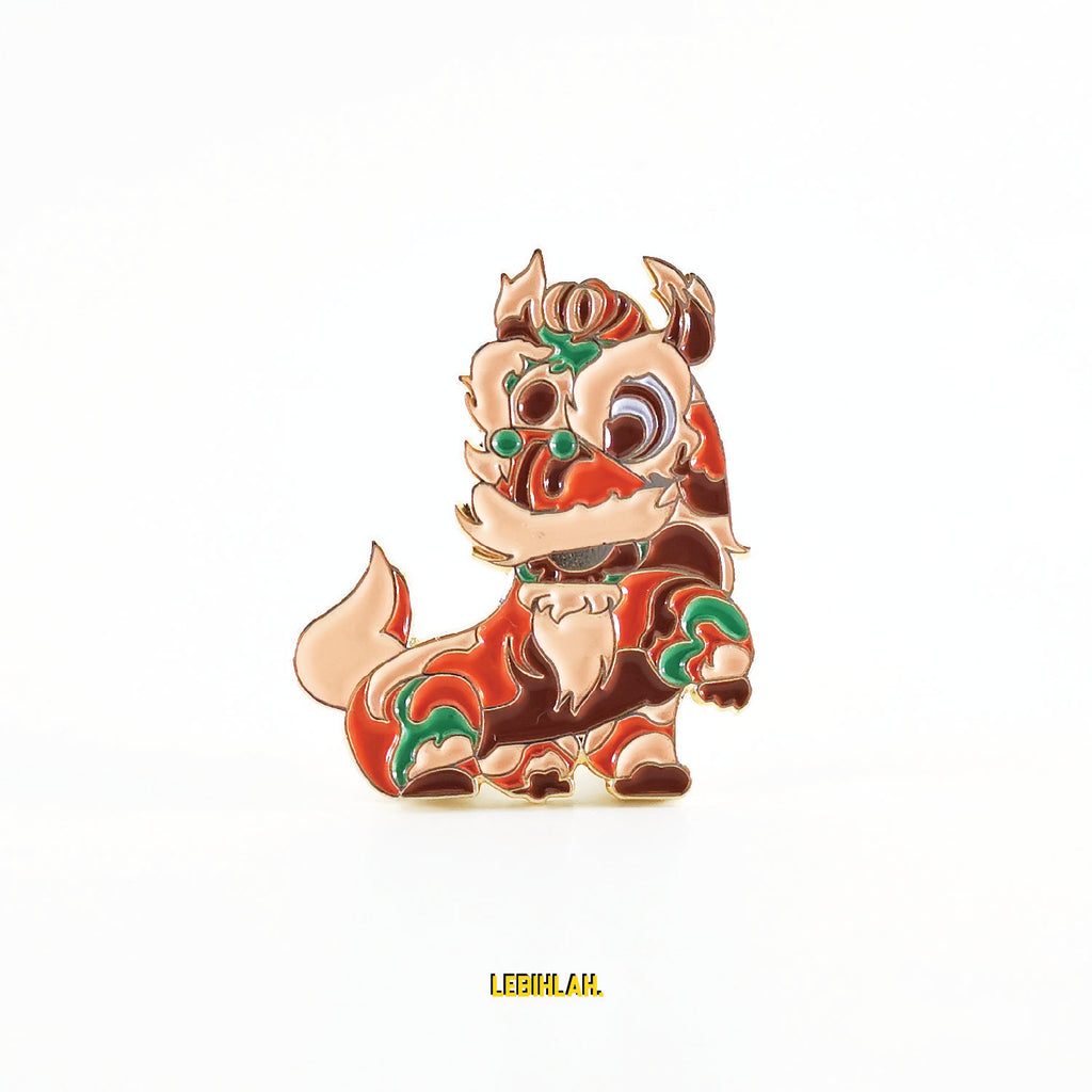 Enamel Pin - Lion Dance