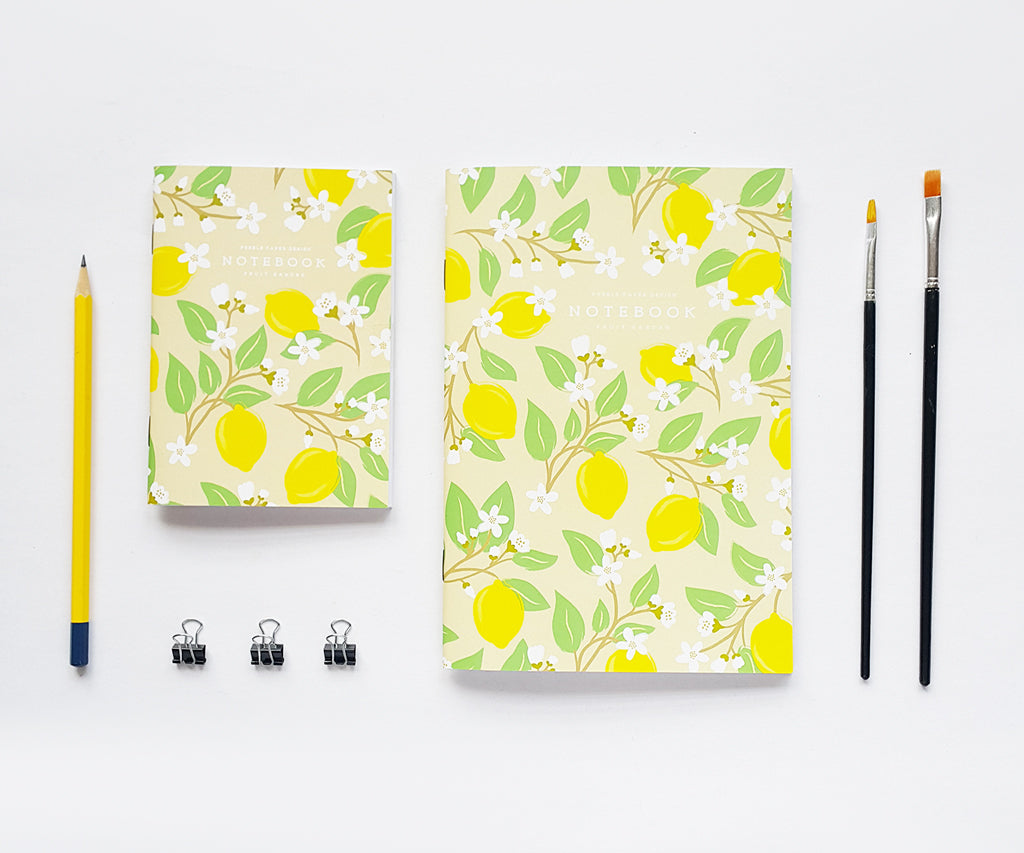 Lemon Notebook