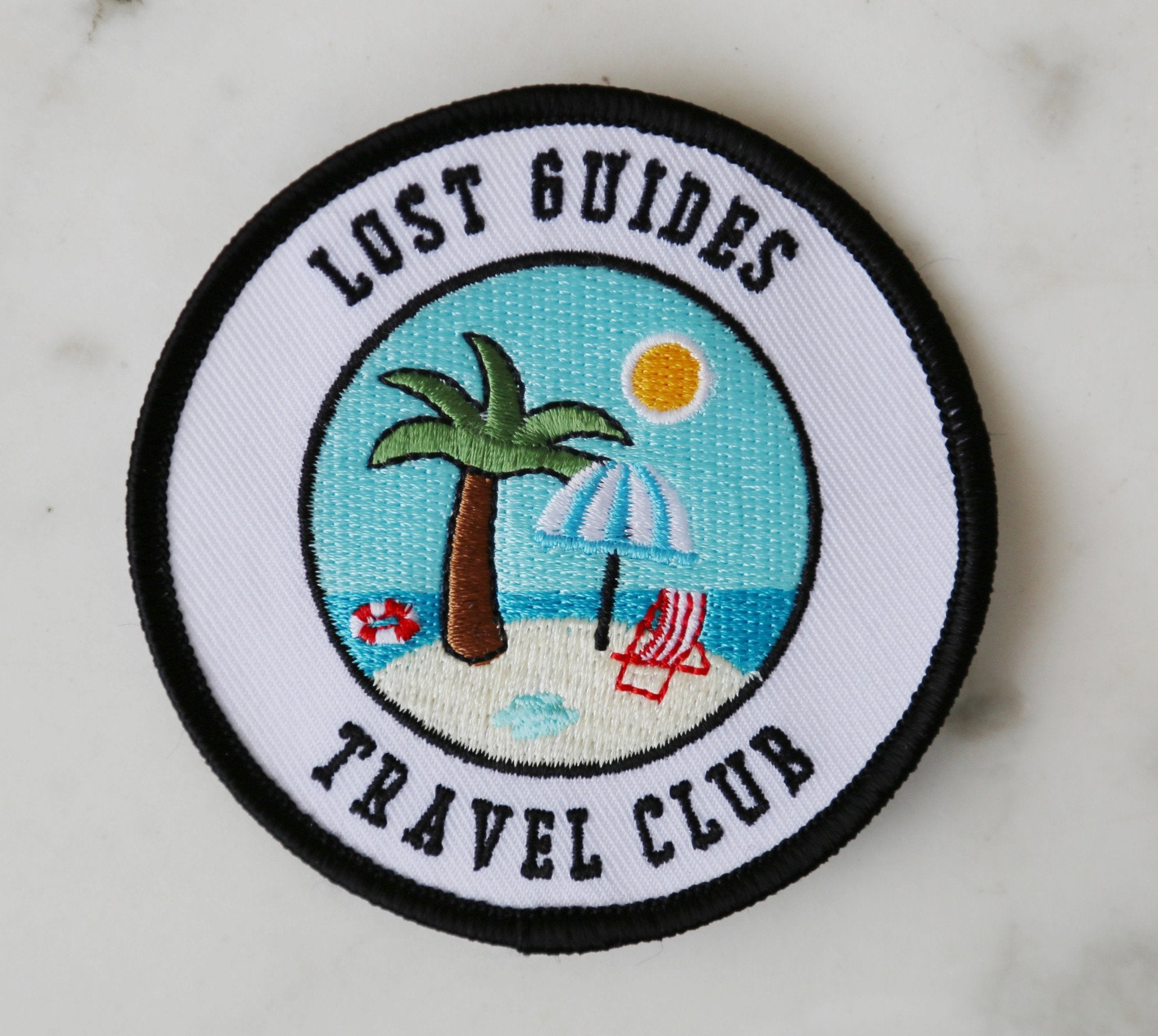 Lost Guides Travel Club patch