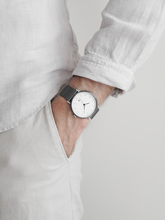 GREY x SILVER MG001 WATCH