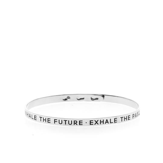 Inhale The Future, Exhale The Past Bangle