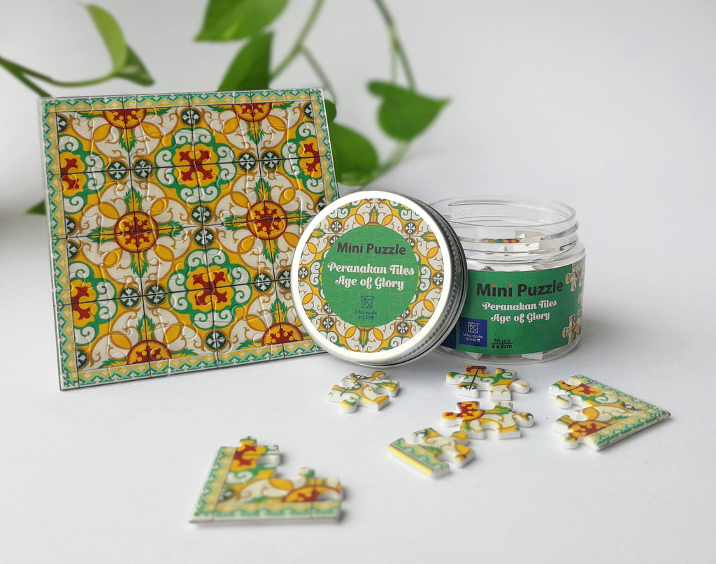 Peranakan Tiles Age of Glory - Mini puzzle