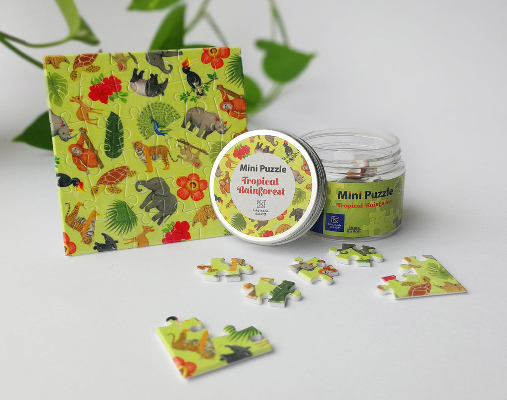 Tropical Rainforest - Mini puzzle