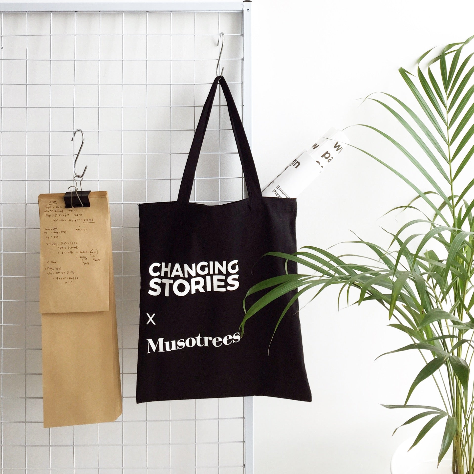 Tote Bag - Changing Stories x Musotrees