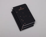 Black Speckle Pocket Notebook