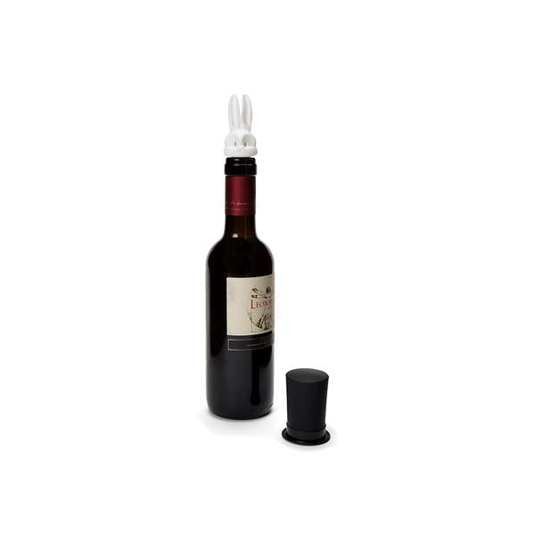 Barney Wine Pourer and Stopper Set