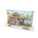 Santai and Santan - Pop Up Card