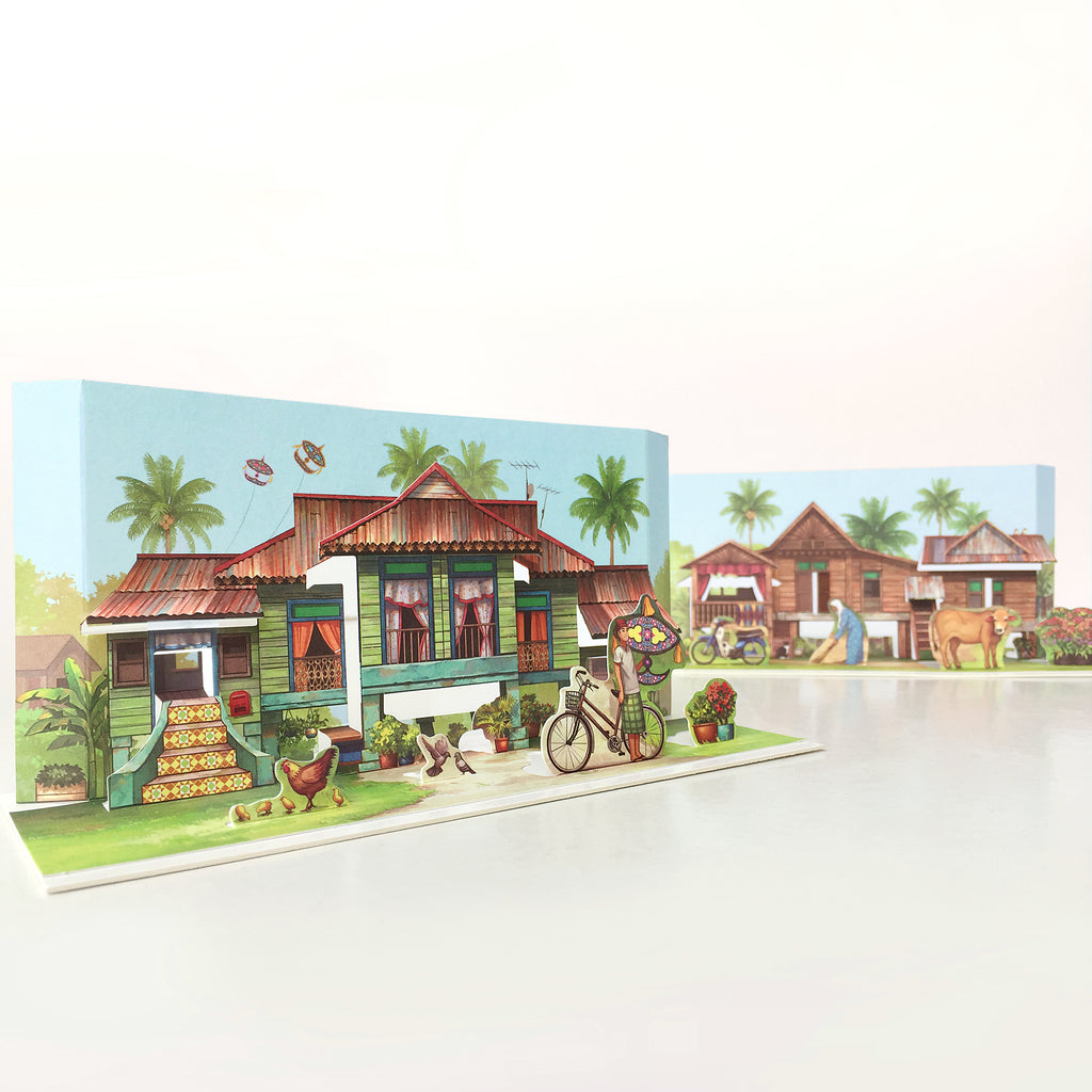 Pop Up Postcards: A Tale of Kampung House