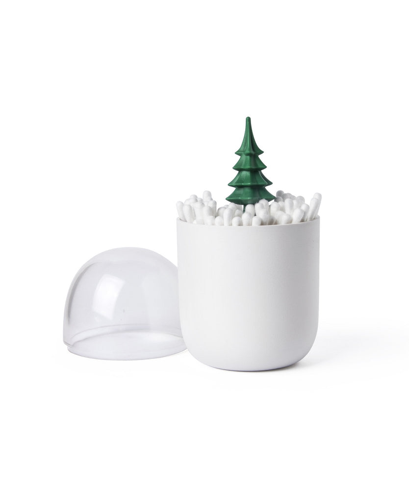 Winter Time Cotton Bud Holder By Qualy
