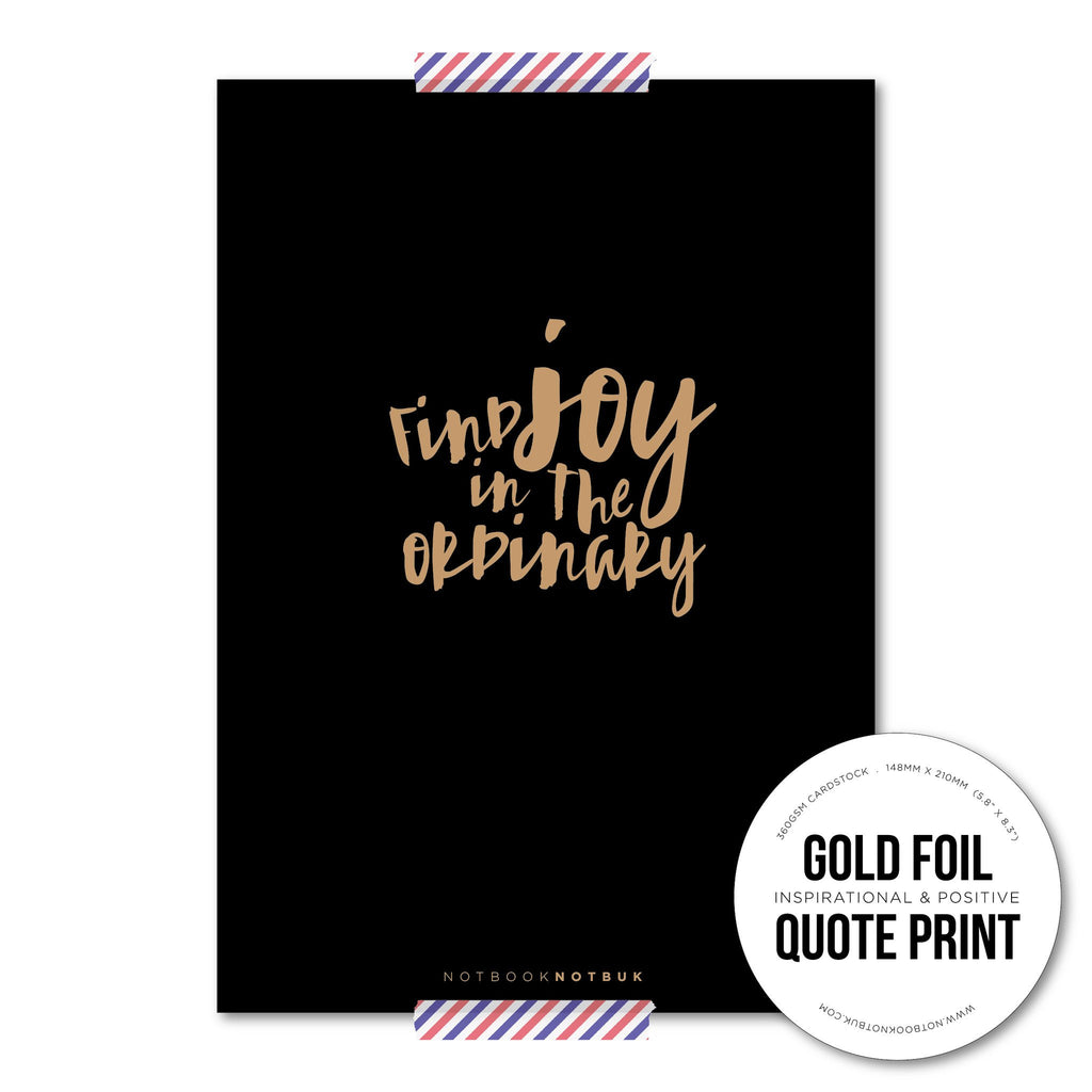 QUOTE CARD - Find Joy