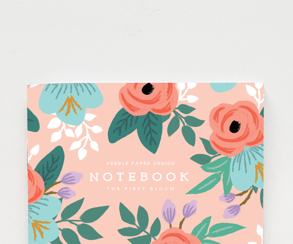 Red Rose Notebook