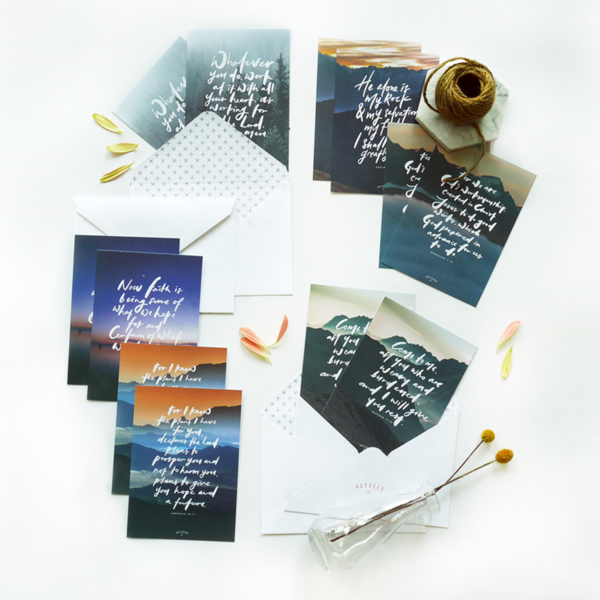 Set of 12 Postcards - Come To Me