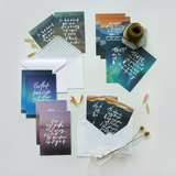 Set of 12 Postcards - He Alone Is My Rock