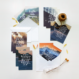 Set of 12 Postcards - For I Know The Plans