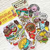 Singapore Food Stickers