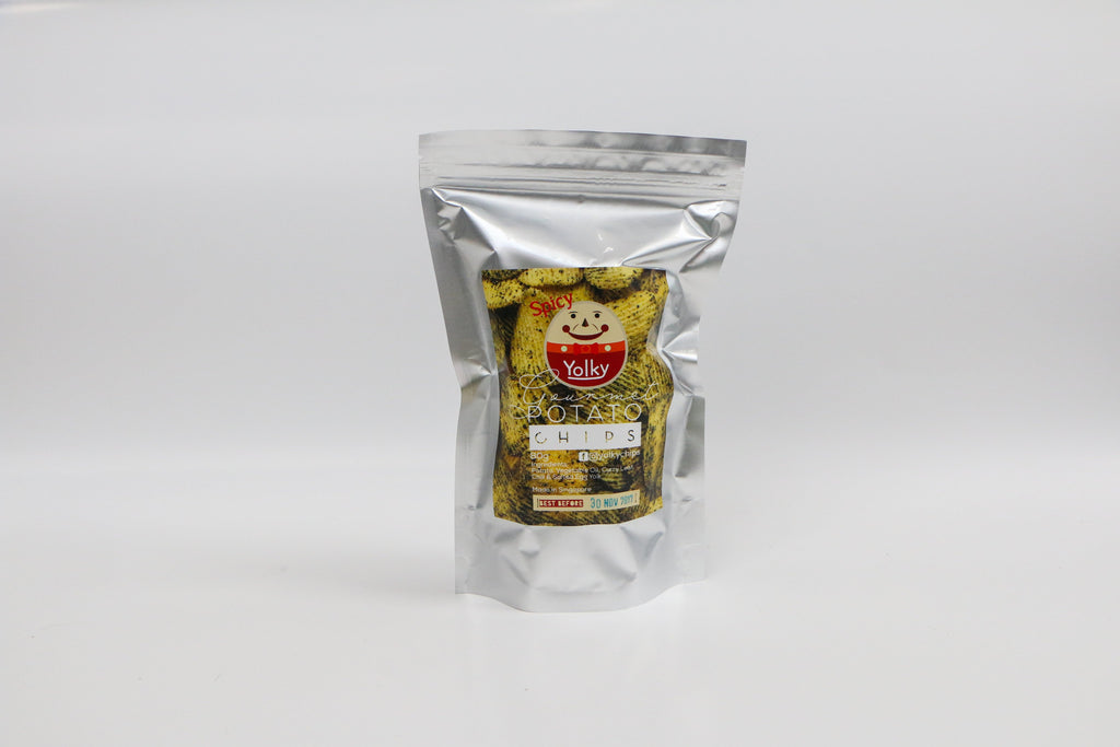 Salted Egg Yolk Chips (Spicy)