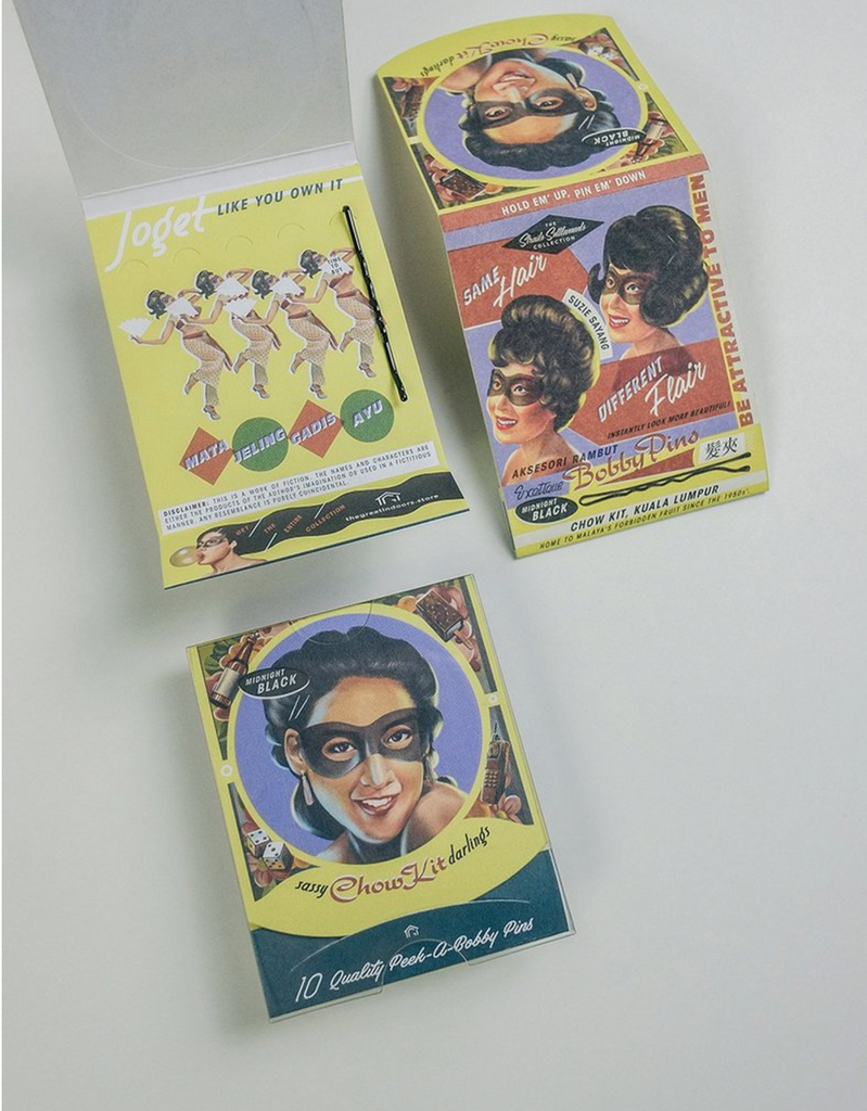 Sassy Chow Kit Darlings Bobby Pins