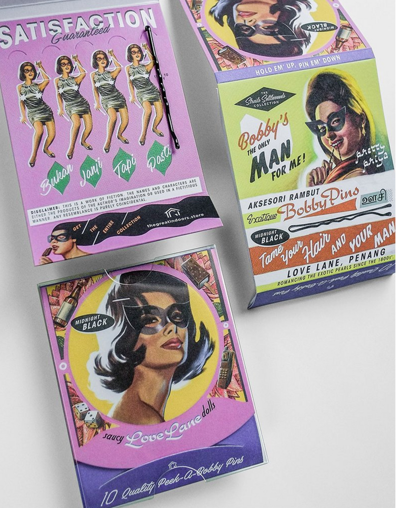 Saucy Love Lane Dolls Bobby Pins
