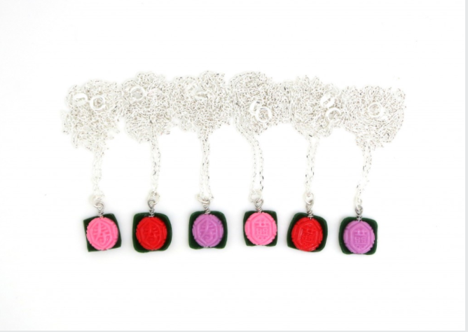 Ang Ku Kueh Necklace (Red only)