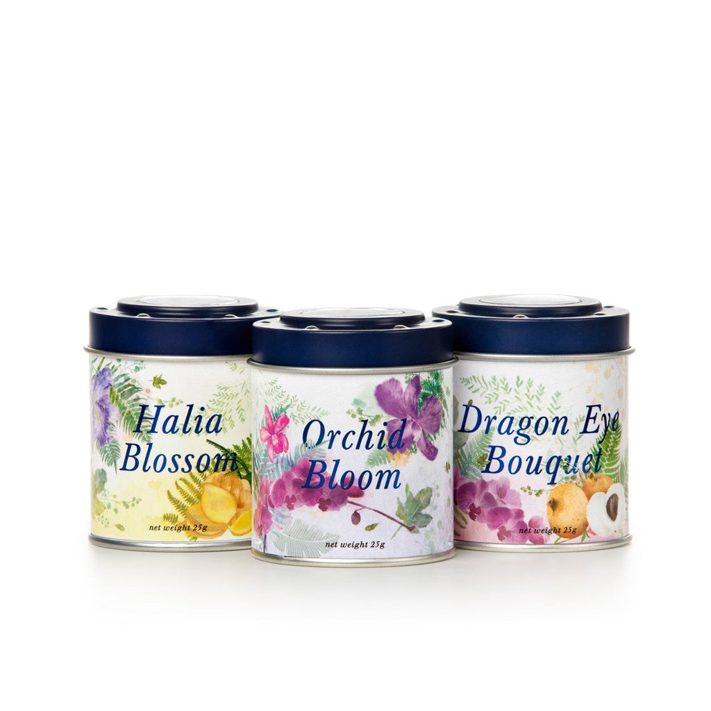 Singapore Orchid 3-in-1 Tea Gift Set