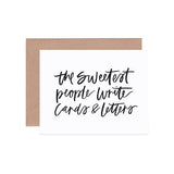 The Sweetest People Card