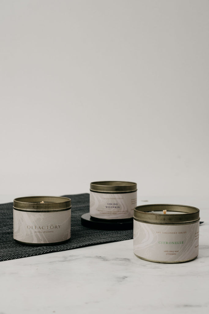 The Disccovery Set - Set of 3 Discovery Series Candle