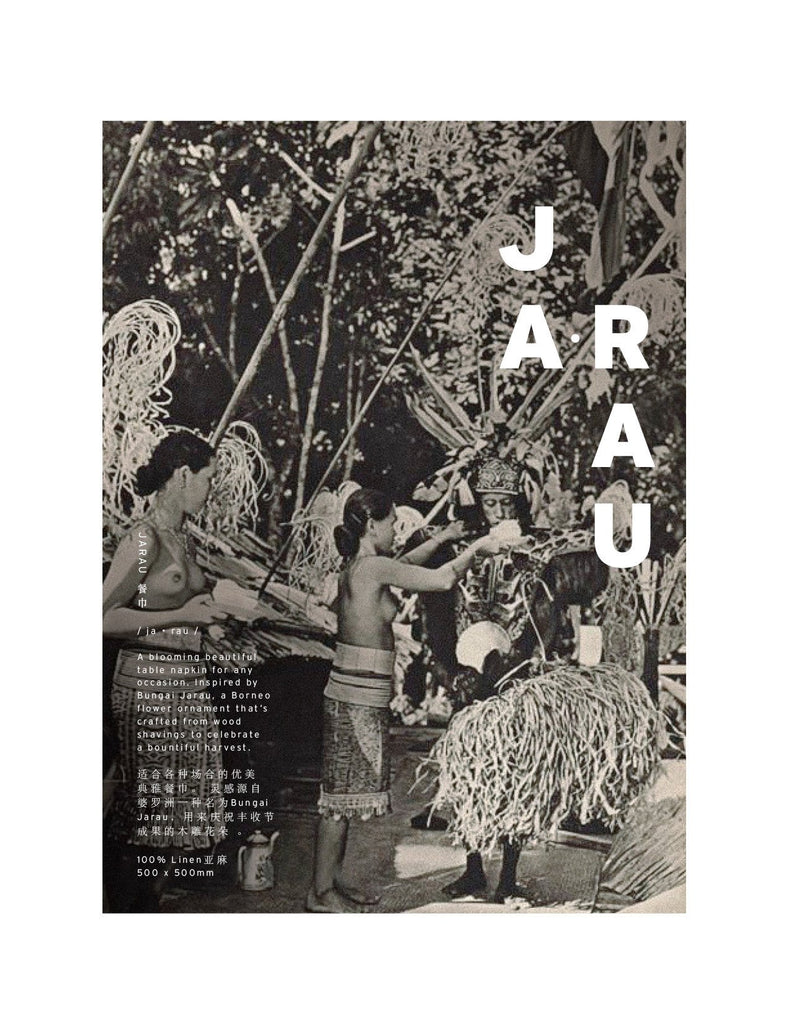 Bungai Jarau Table Napkin