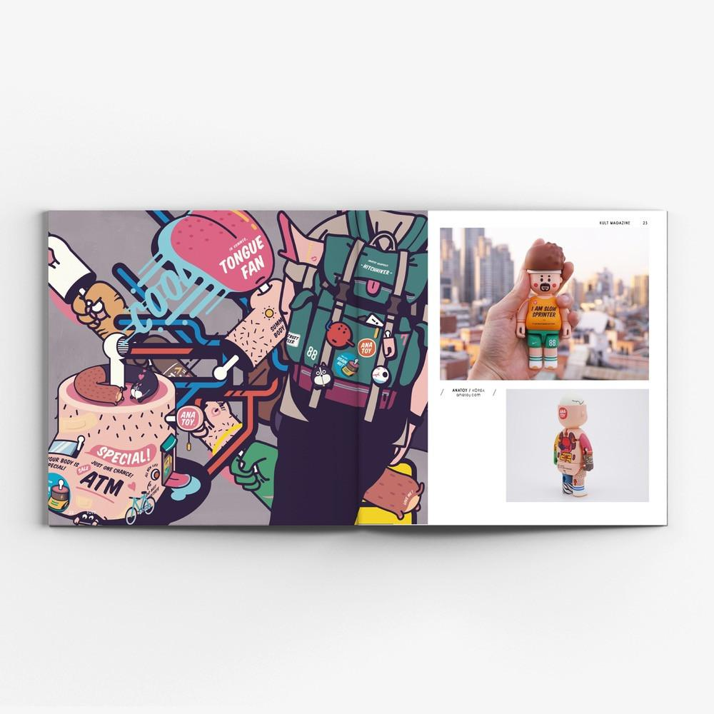 Kult Magazine Issue #20 - Toys
