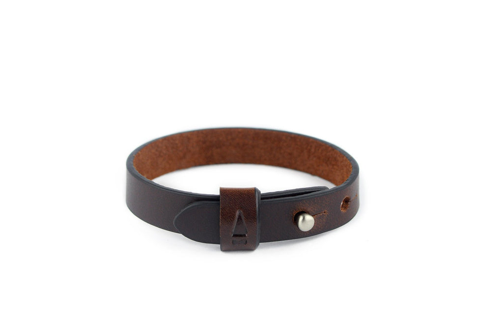 Twine Single Leather Bracelet