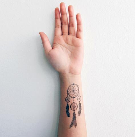 Dreamcatcher Temporary Tattoo