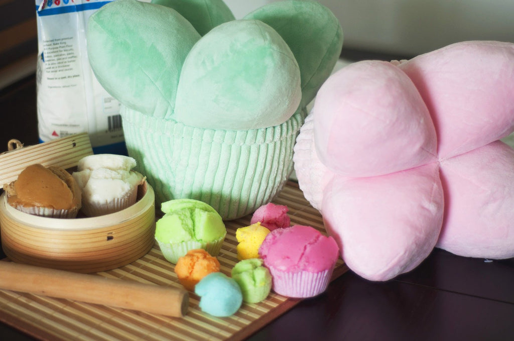 Steamed Rice Cake (Wa Ko Kueh) Cushion