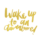 Vogue - Wake Up to an Adventure Temporary Tattoo