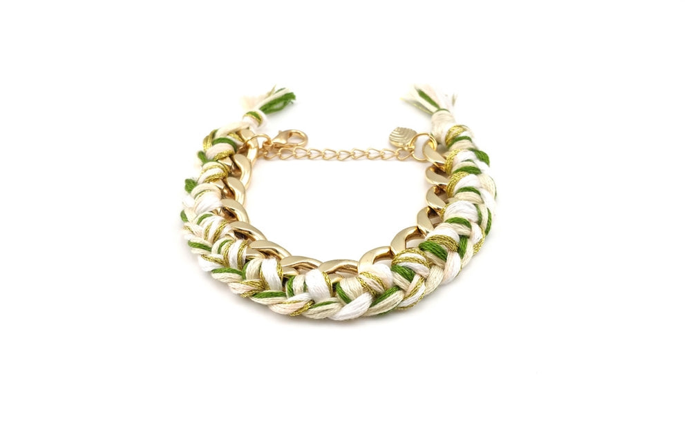 Laurel In Parchment Bracelet
