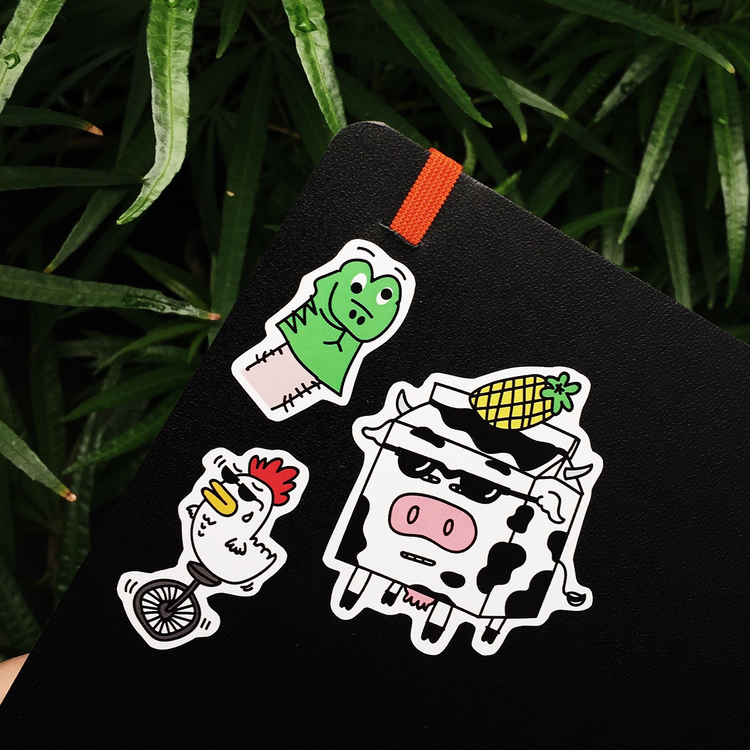 Zodiac Squad Sticker Pack
