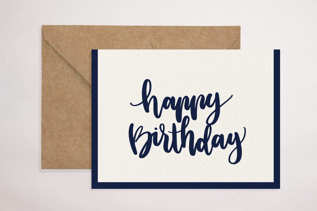 Birthday Card (Blue)