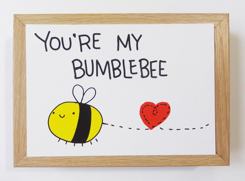 Bumblebee - You're My Bumblebee Postcard