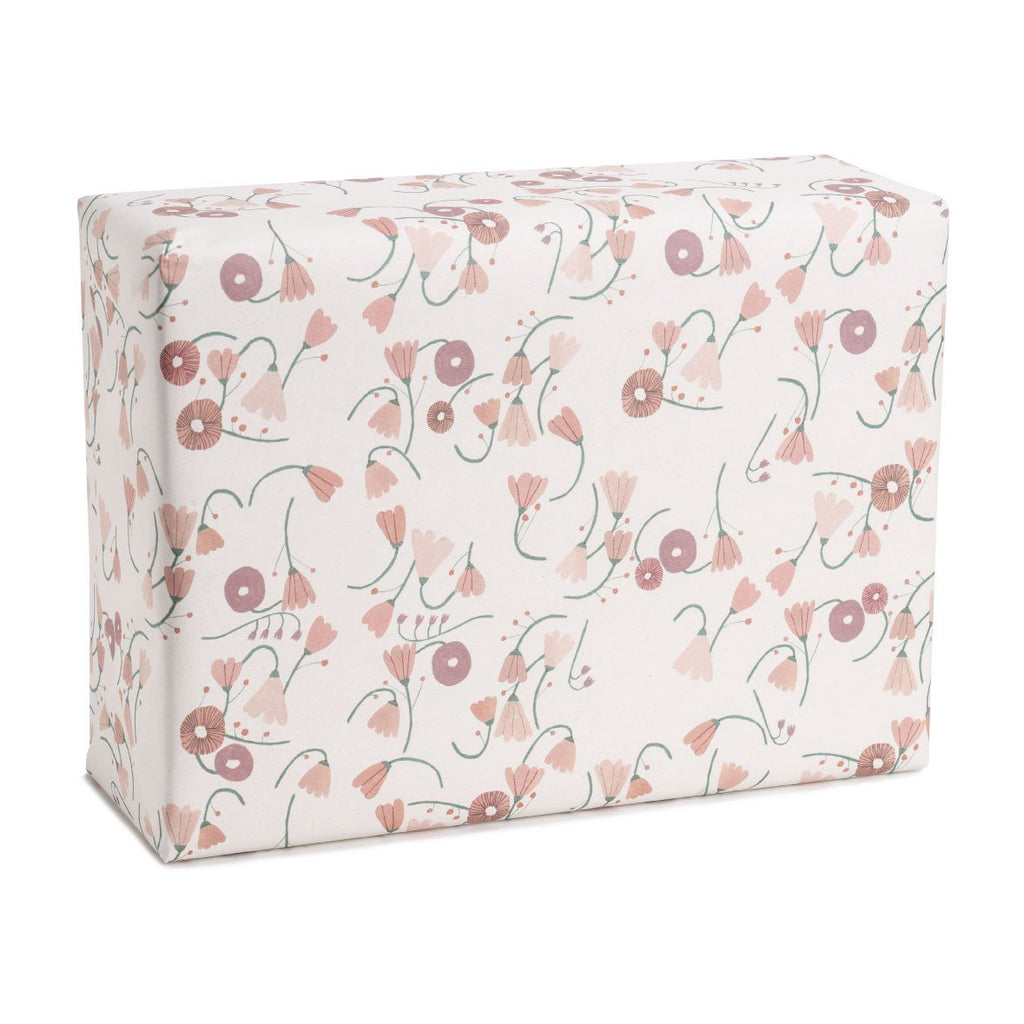 Chain of flowers Wrapping Paper
