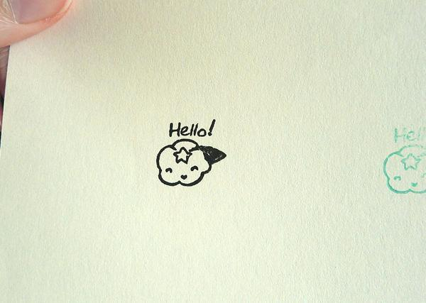 Cloudee Lee Rubber Stamp