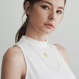 Dani Layered Gold Necklace