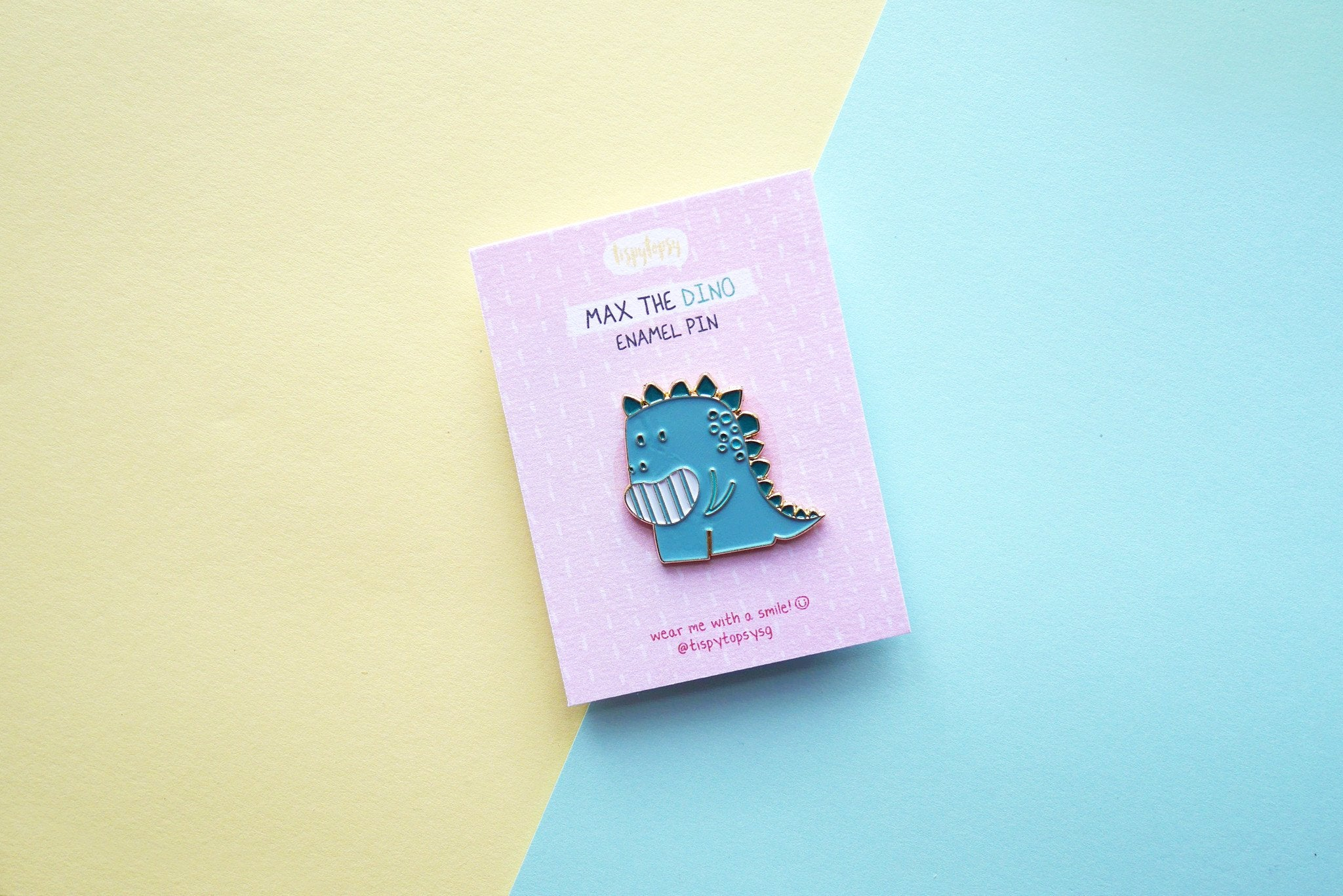 Max the Dino Enamel Pin