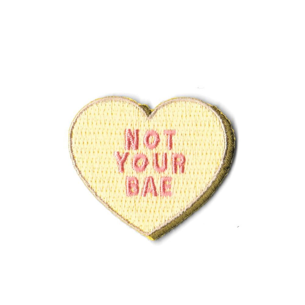 Mini Not Your Bae Iron On Patch