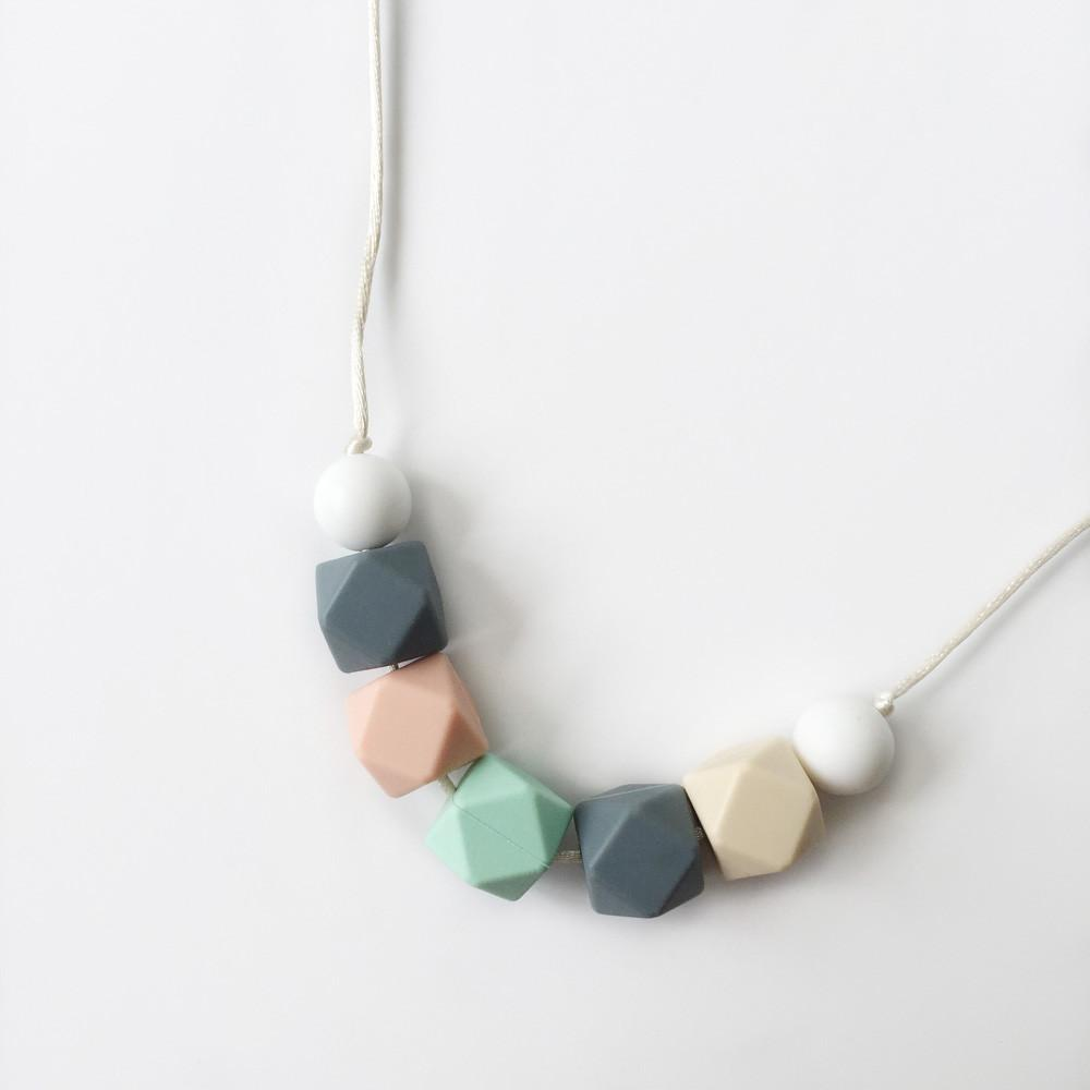 Fern Silicone Necklace - Pastel