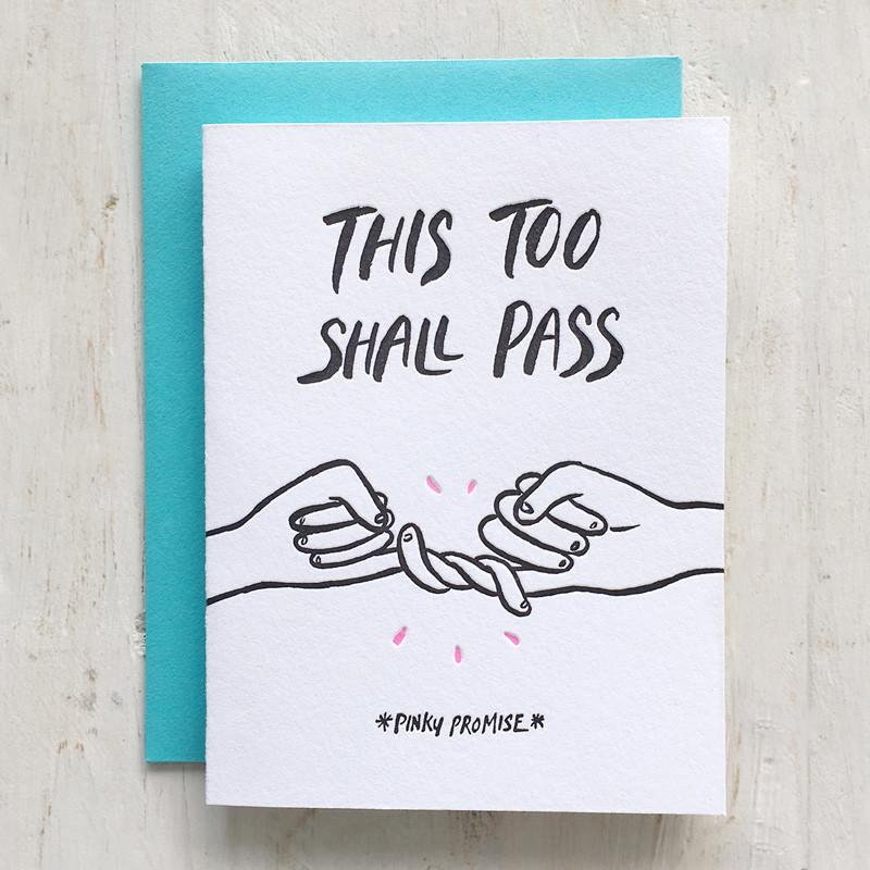 Pinky Promise Greeting Card