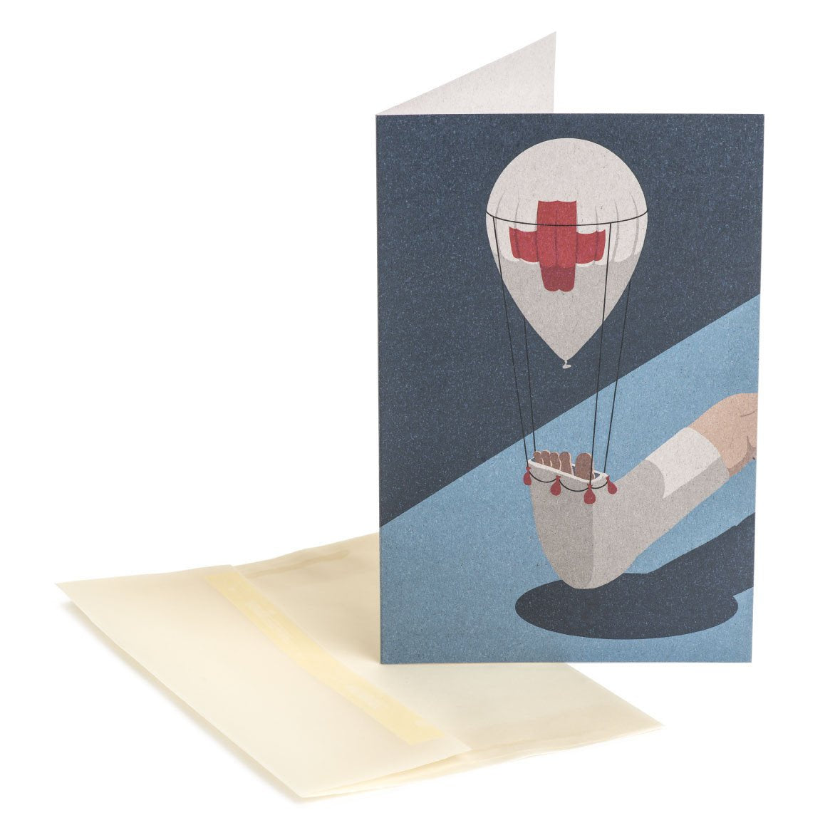 First aid Greeting Card