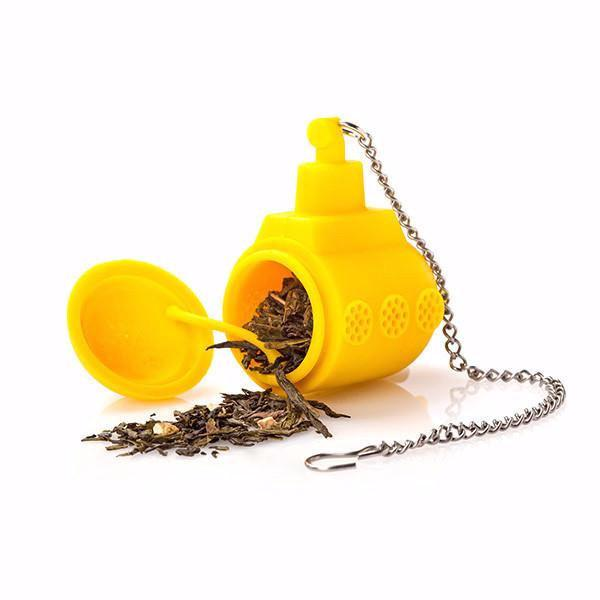 Tea Sub - Tea Infuser (Yellow)