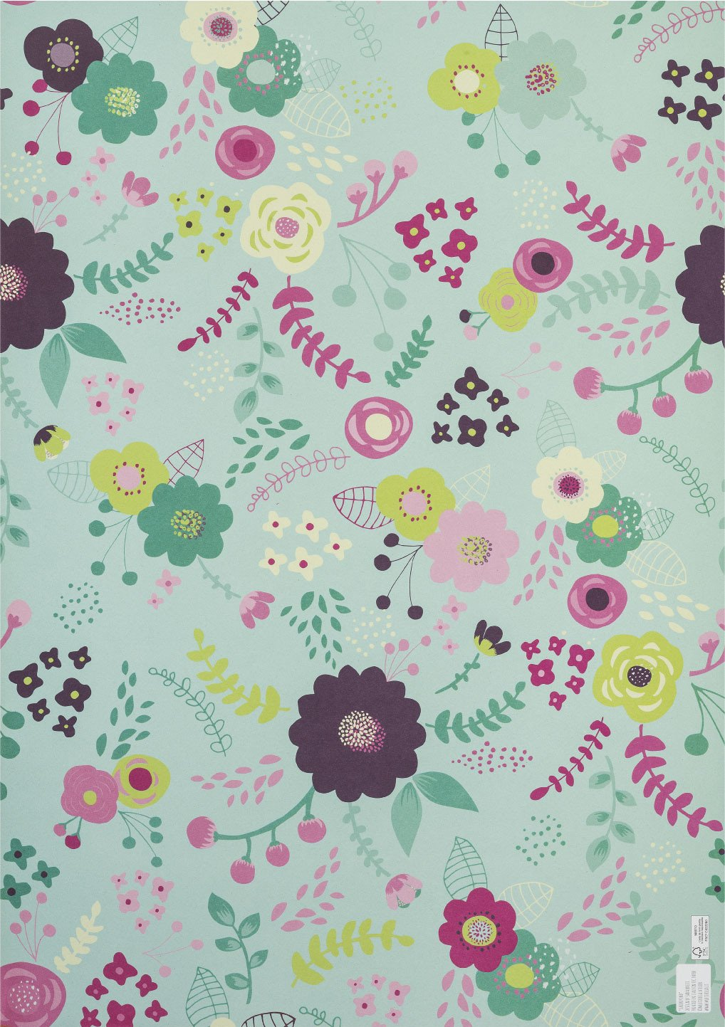 Green pond Wrapping Paper