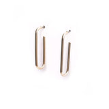 Pin Gold Earring
