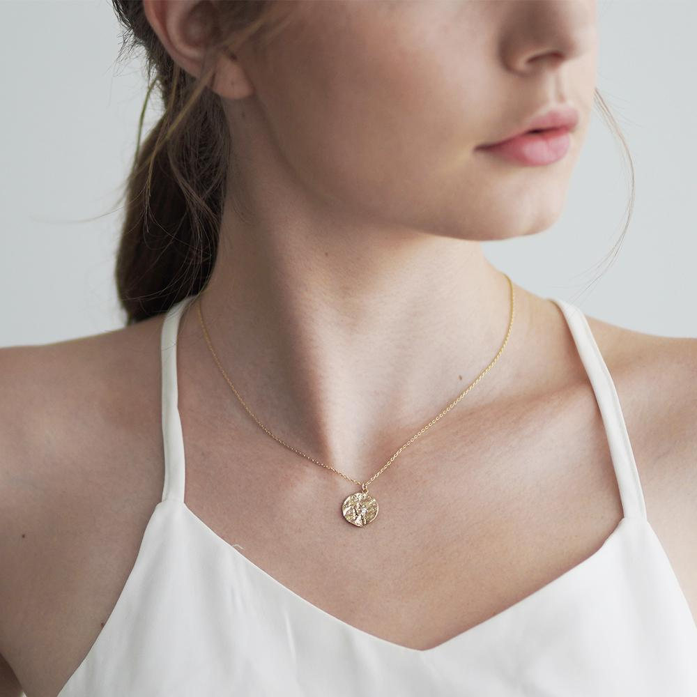 Kay Matte gold necklace
