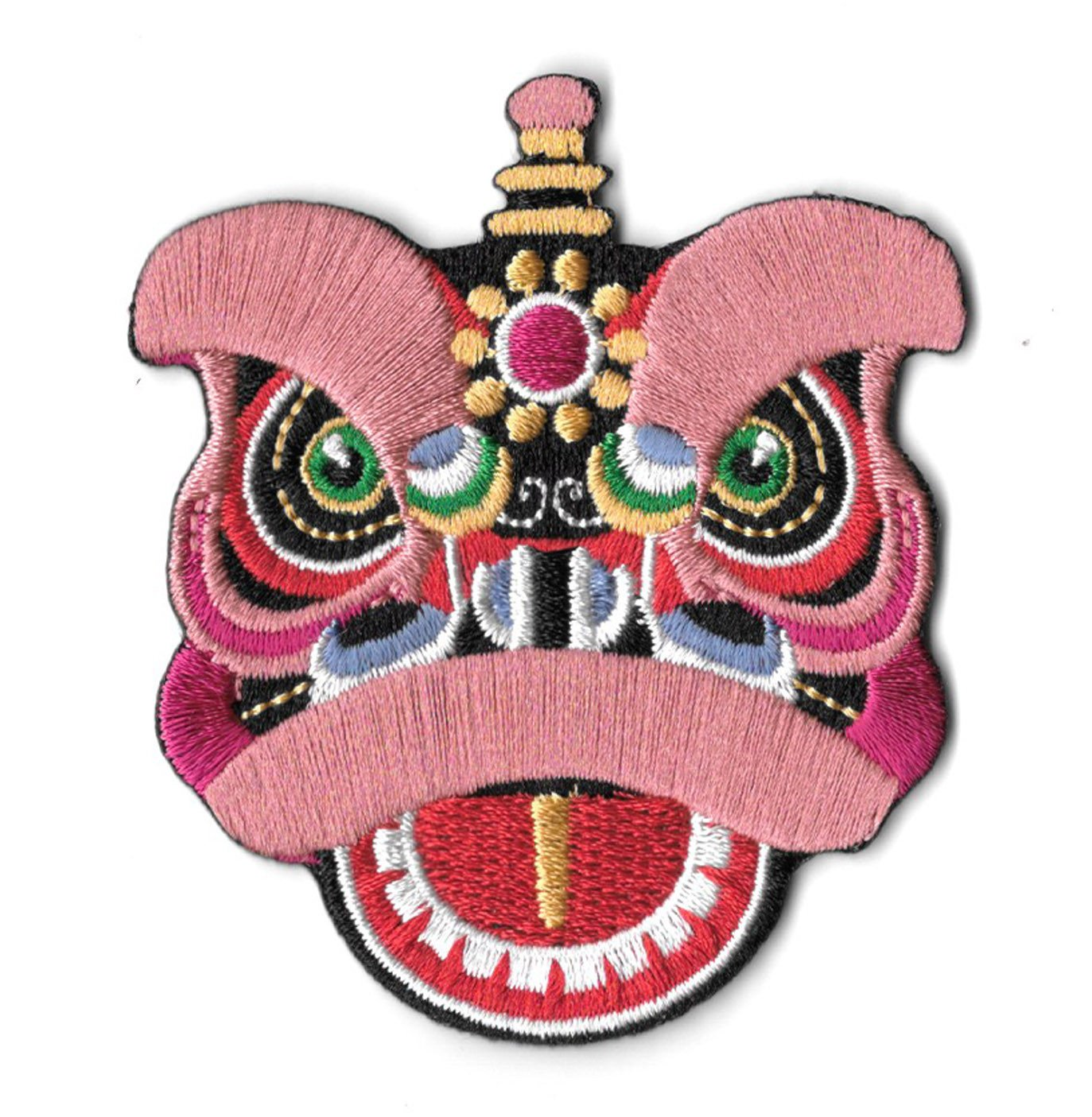 Lion Dance Head Sticker